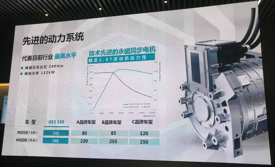广汽新能源传祺GE3 530三电系统技术解析