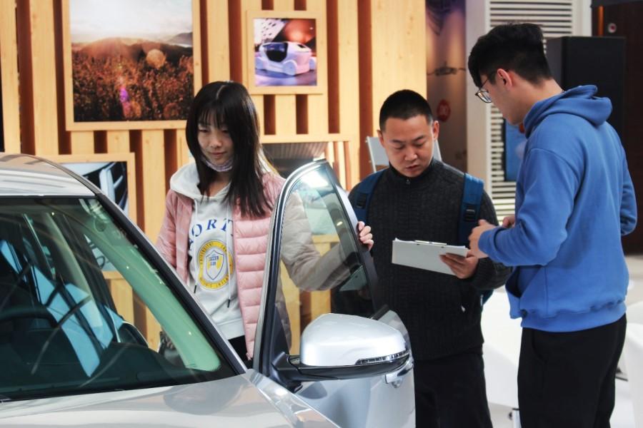 NEVS 93亮相北京合生汇 线上预售已同步开启