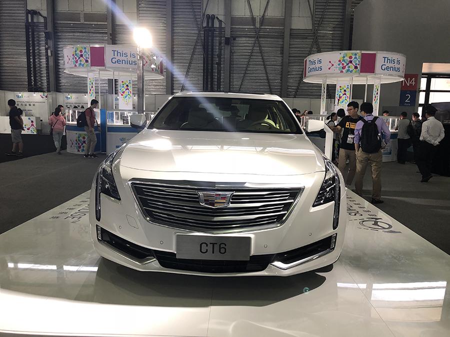 2018 CES Asia:凯迪拉克发布超级智能驾驶系统
