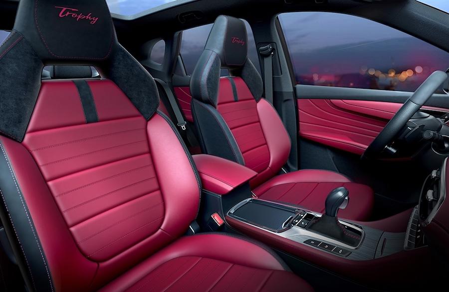 名爵HS最新官图发布 未来将推新能源车型