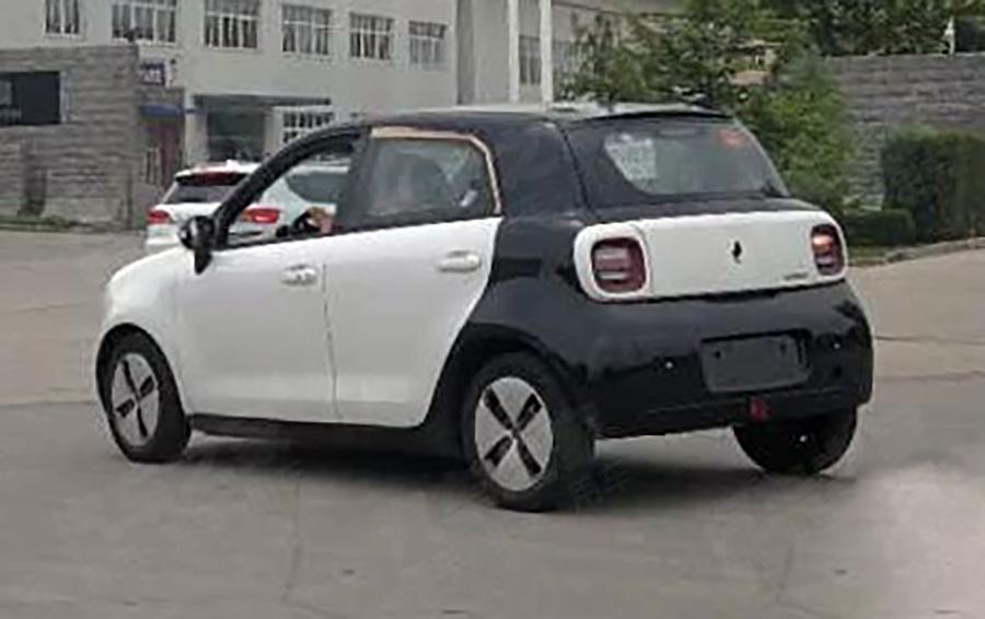 沿用概念车设计 量产版长城欧拉R1谍照曝光