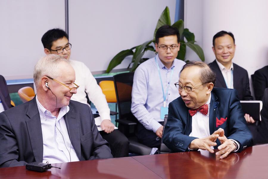华人运通举办首次内部技术创新研讨会