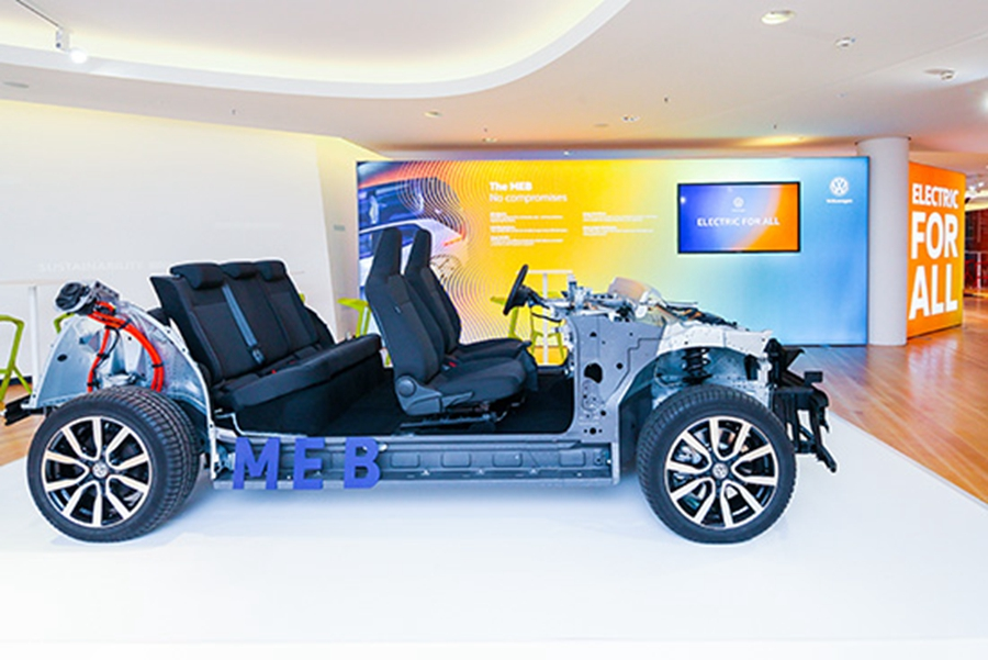 大眾發布MEB電動平臺 ID.為首款車型