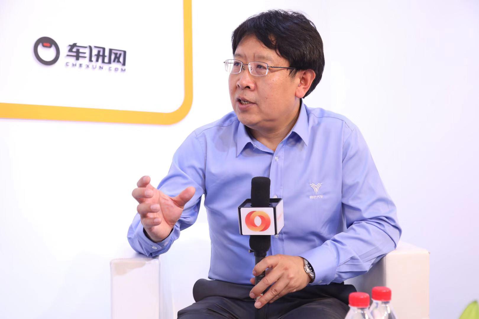 用智能化技术服务用户 广州车展专访哪吒汽车戴大力