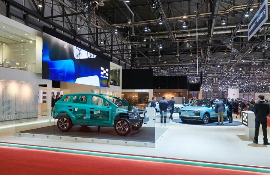 爱驰汽车亮相日内瓦车展 获欧洲市场肯定