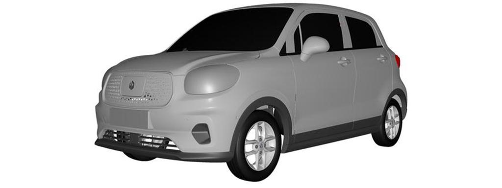零跑T03专利图曝光 2020年上市/面向网约车市场