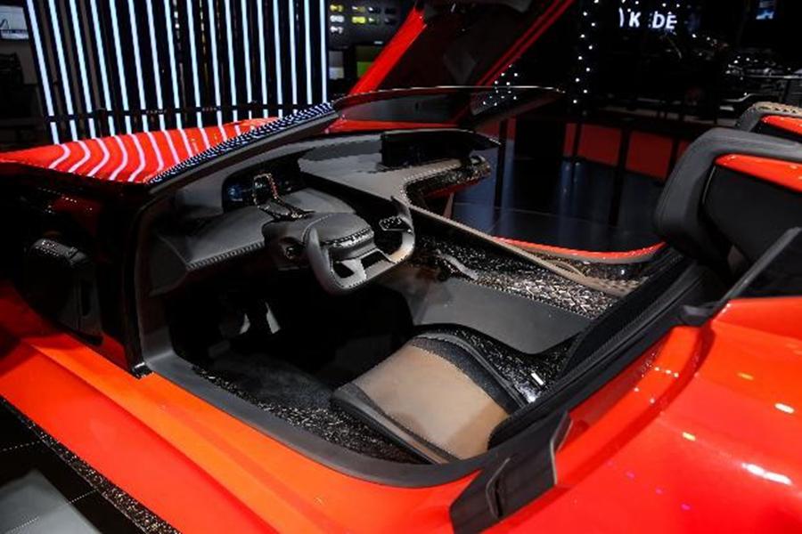 引入战机设计理念 解读Karma SC1 Vision概念车