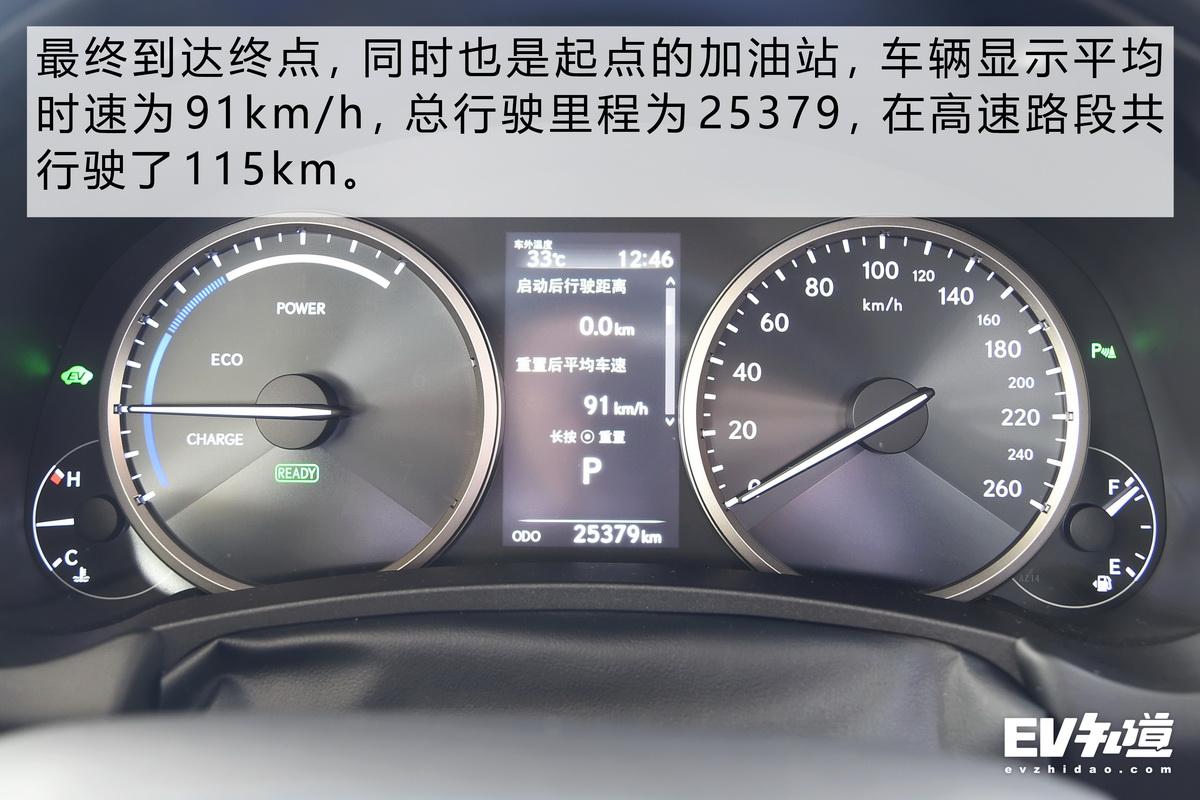 城市/高速油耗表现双优 雷克萨斯NX 300h实测
