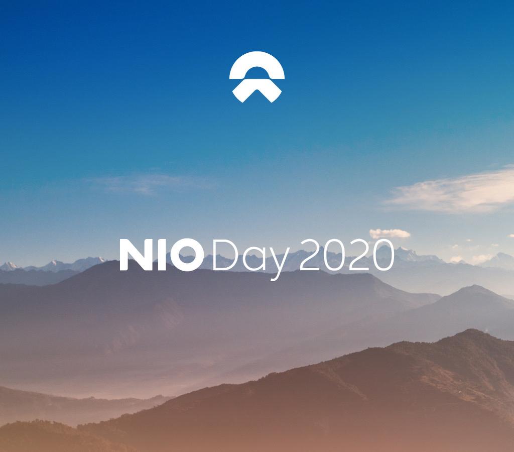 蔚来NIO Day 2020定于2021年1月9日举行