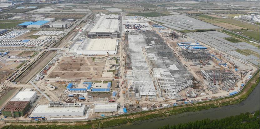 特斯拉将投资4200万上海新建一座工厂 主要生产V3超级充电桩