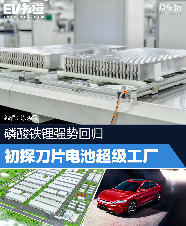 磷酸铁锂强势回归 初探刀片电池超级工厂