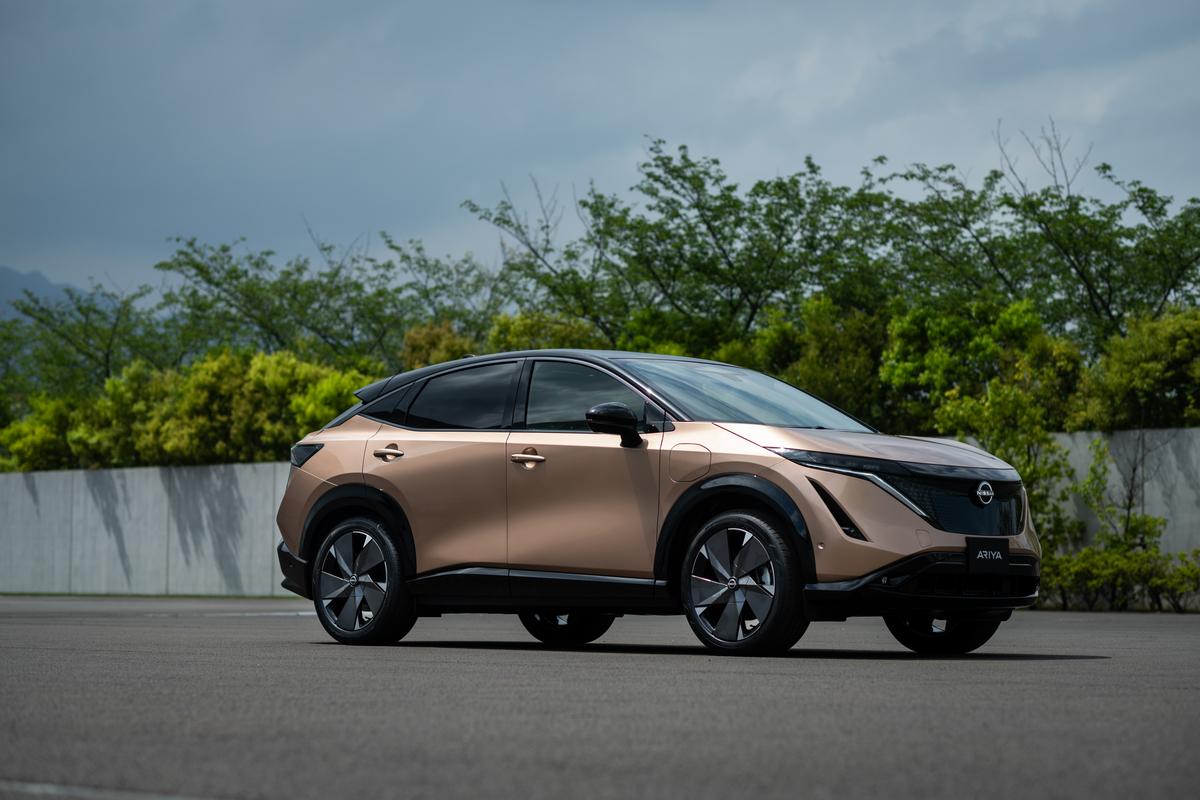 续航最高610km计划2021年上市 纯电跨界SUV日产Ariya正式发布