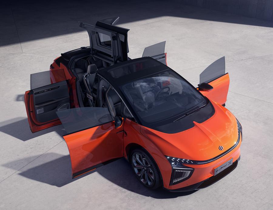 可进化的超跑SUV 高合HiPhi X全球首发预赏品鉴