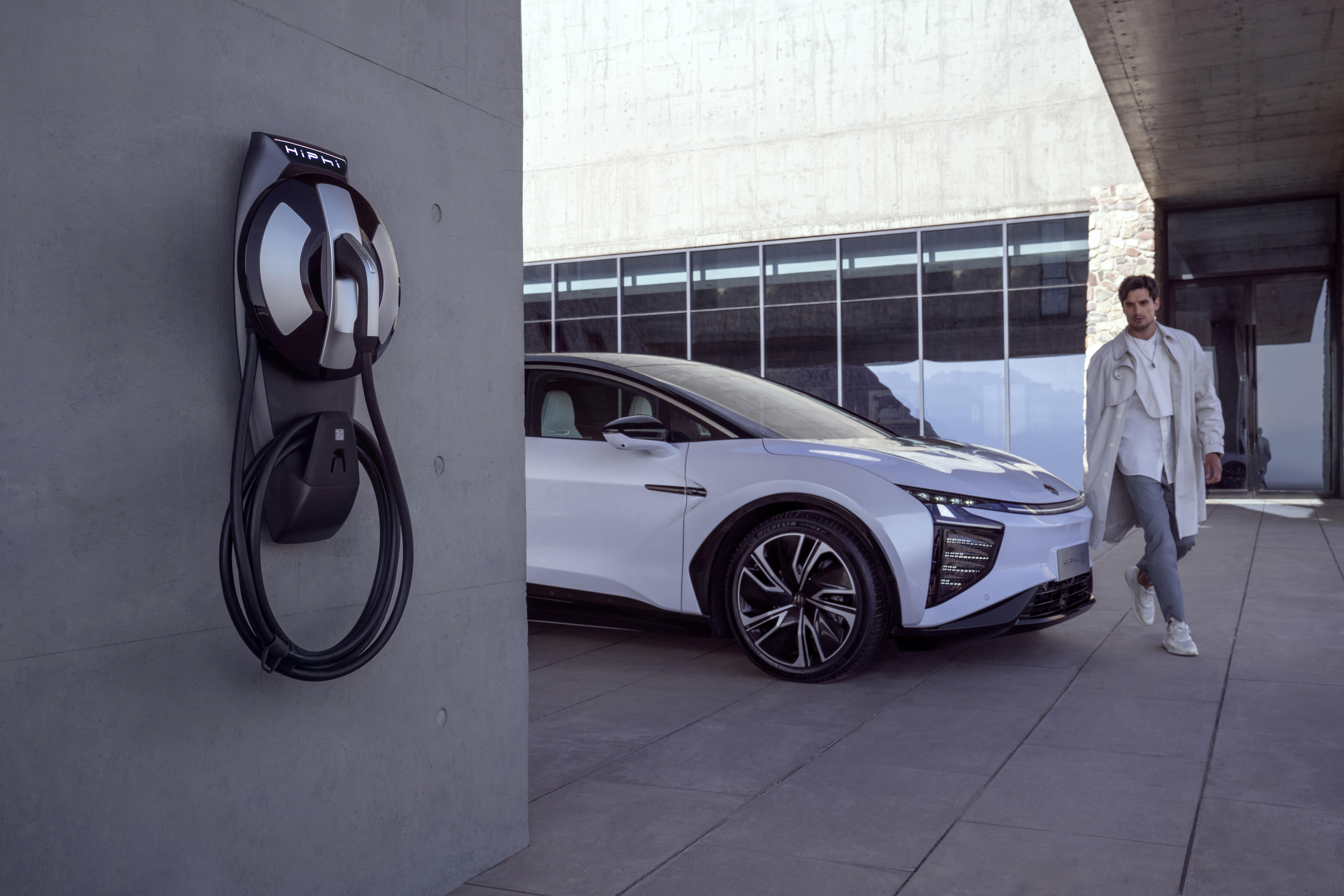 高合汽车发布1000公里电池包升能服务及HiPhi X 四车型开启预订